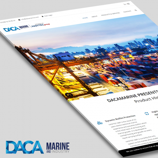 Daca Marine website