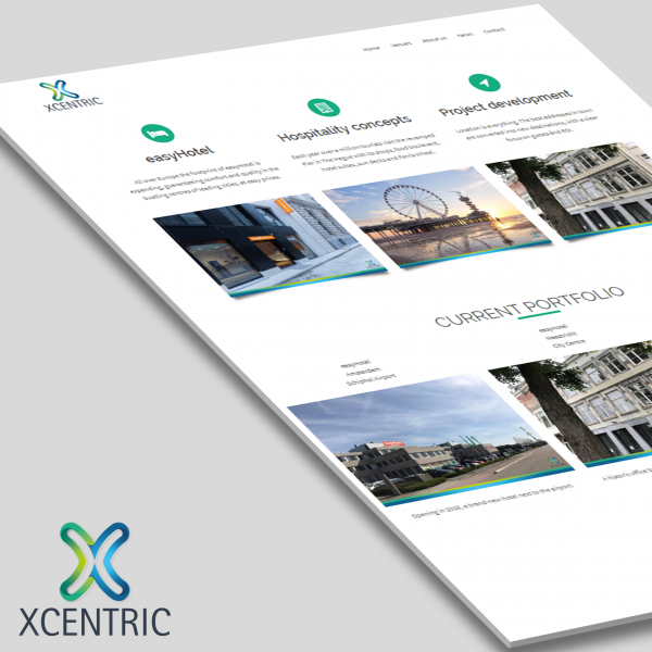 Xcentric website