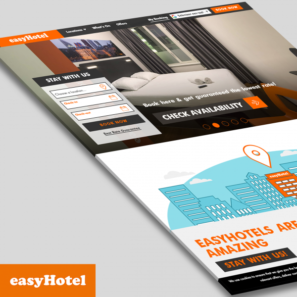 easyhotel website