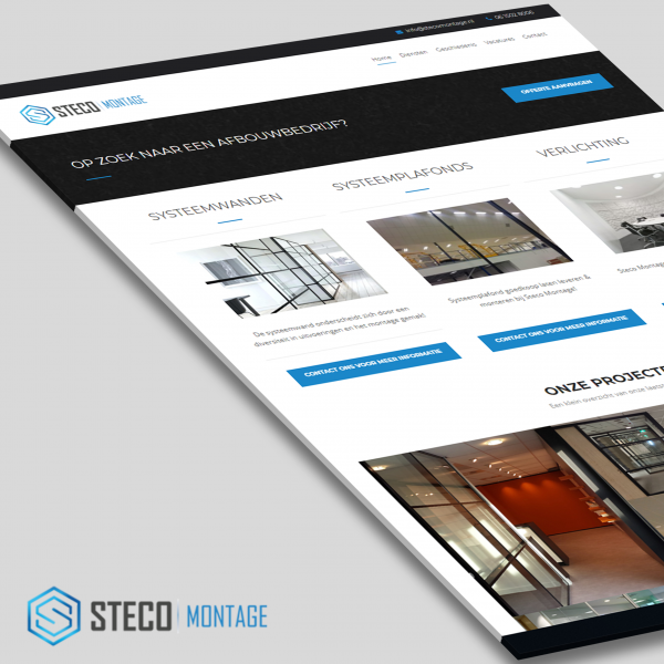 Steco Montage website