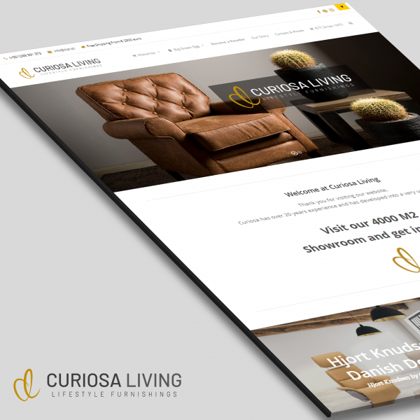 Curiosa Living website