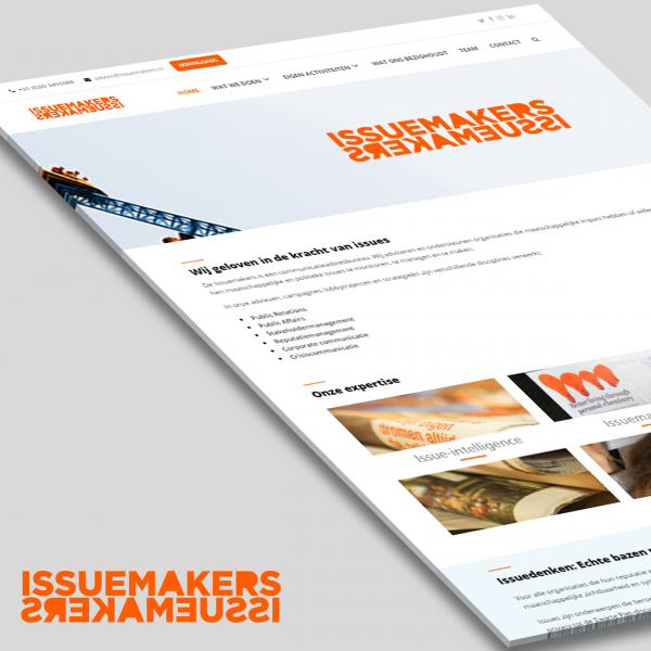 Issuemakers website